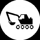 Ikon för mark och anläggning